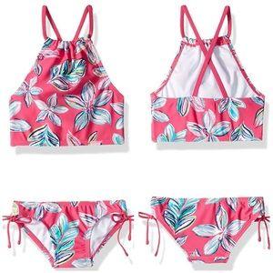 Kanu Surf Girls' Daisy Halter Tankini 2-Piece Swim